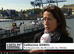 Rejoindre Bruxelles sans embouteillages:<br>c'est possible grâce au Waterbus