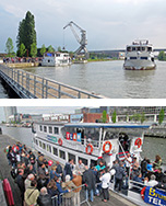 Sunday May 1st 2016: Big 'Canal day'<br>and start of the Waterbus sailing season!