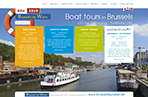 Boat tours in Brussels 2019