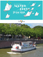 Zondag 29 april 2018: start vaarseizoen Waterbus<br>en groot Waterfeest in Vilvoorde!